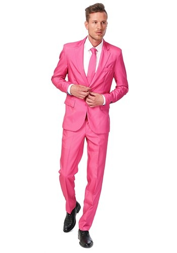Mens SuitMeister Basic Pink Suit Costume