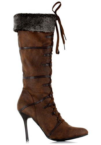 Sexy Brown Viking Boots By: Ellie for the 2015 Costume season.