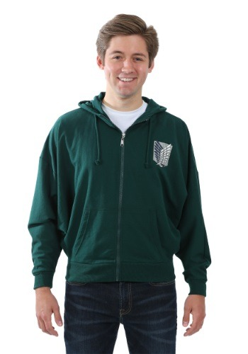 Attack on Titan Survey Corps Costume Hoodie RPTAJW2115