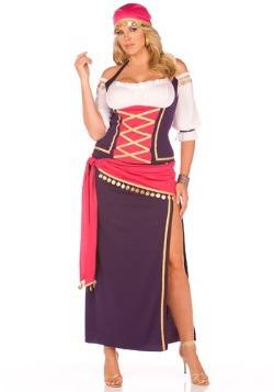 Plus Gypsy Maiden Costume