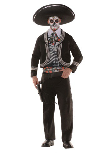 Click Here to buy Mens Day of the Dead Costume from HalloweenCostumes, USA Funds & Shipping