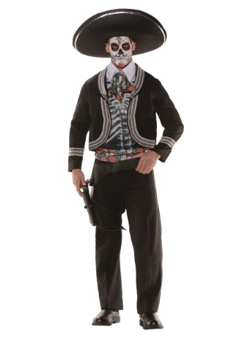 Click Here to buy Day of the Dead Costume - Plus Size for Men 2X from HalloweenCostumes, CDN Funds