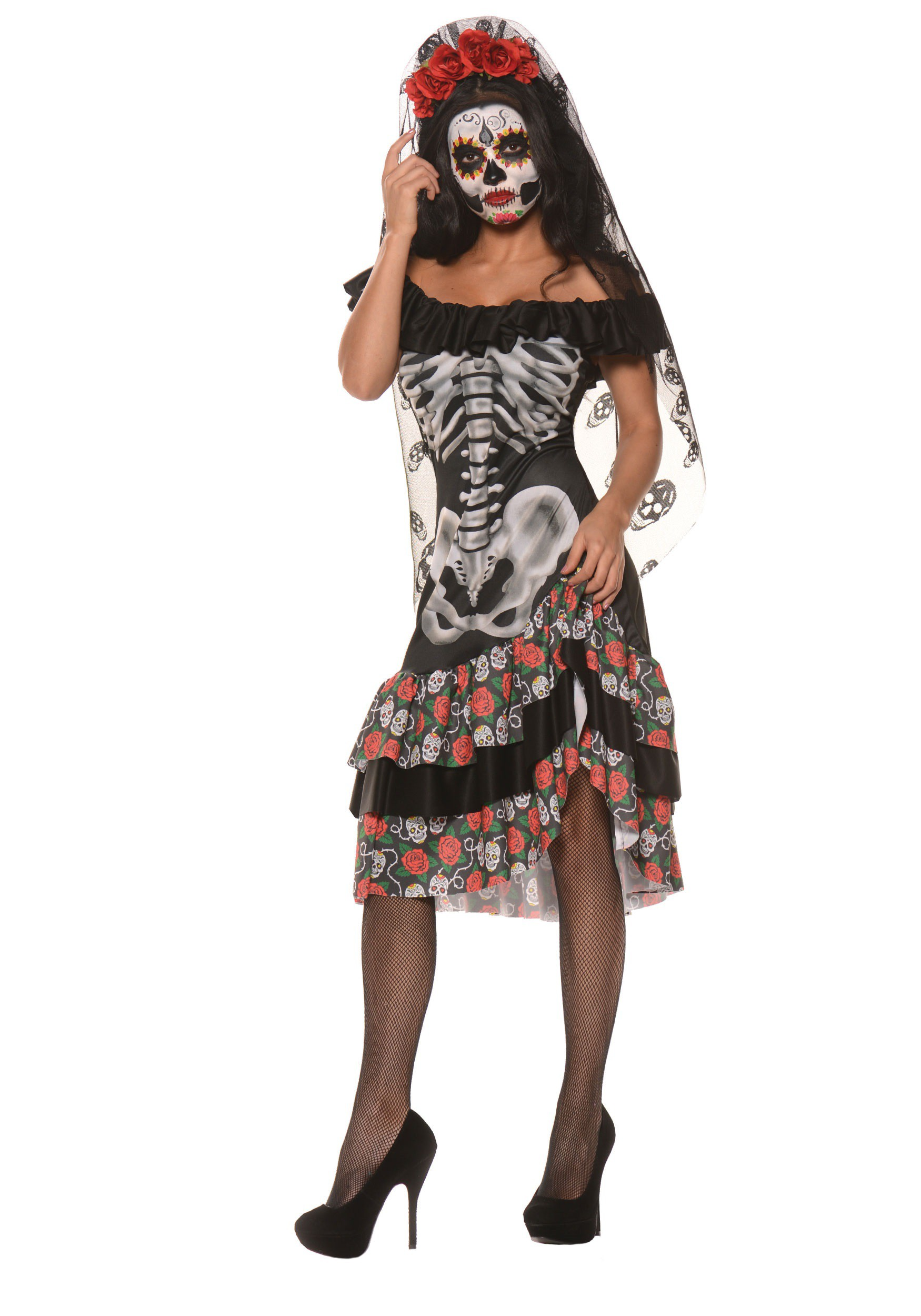 womens queen of the dead costume