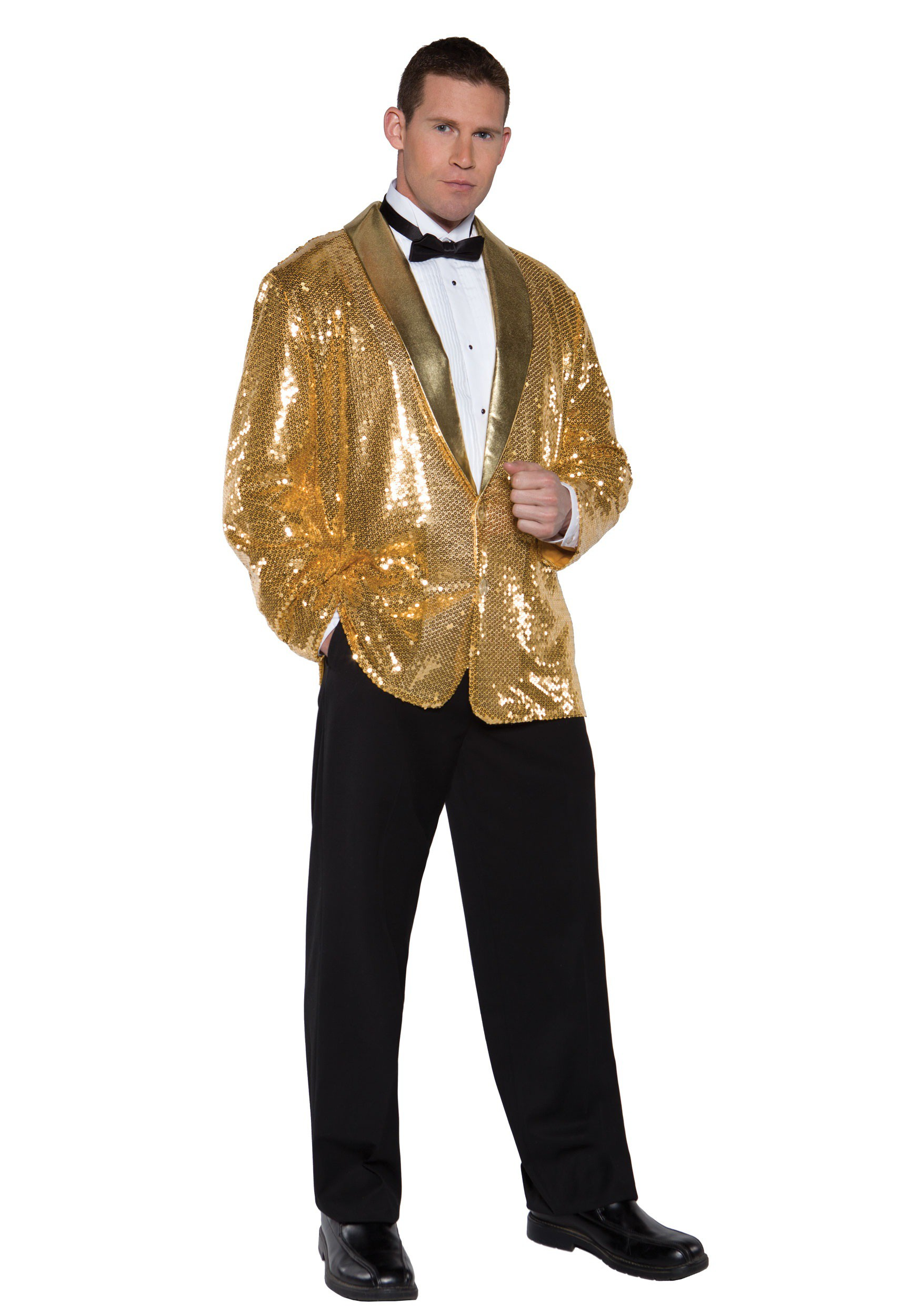 09fbe020d Gold Sequin Jacket Costume