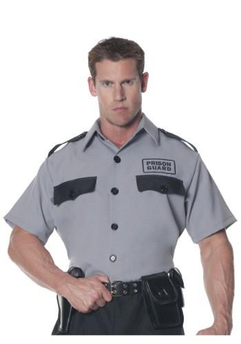 Men's Plus Size Prison Guard Shirt