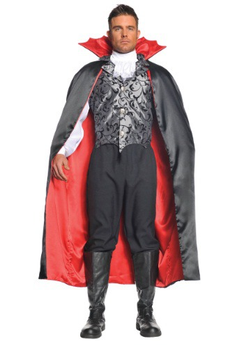 Deluxe Vampire Cape By: Underwraps for the 2015 Costume season.