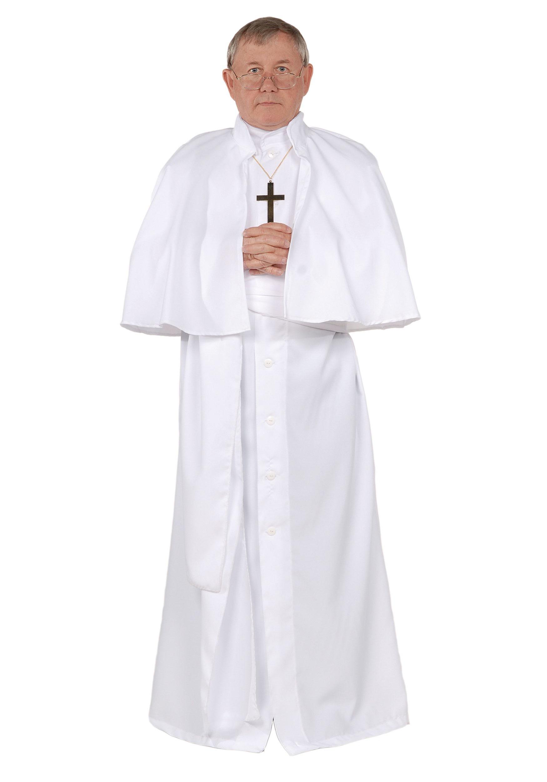 Men\'s Plus Size Pope Costume
