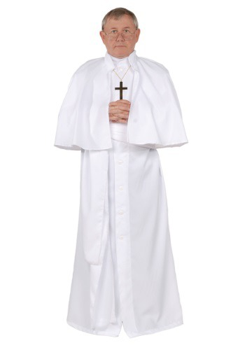 Click Here to buy Mens Plus Size Pope Costume from HalloweenCostumes, USA Funds & Shipping