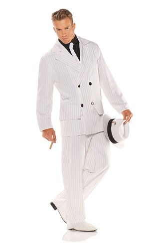 Mens Plus Size Smooth Criminal Costume