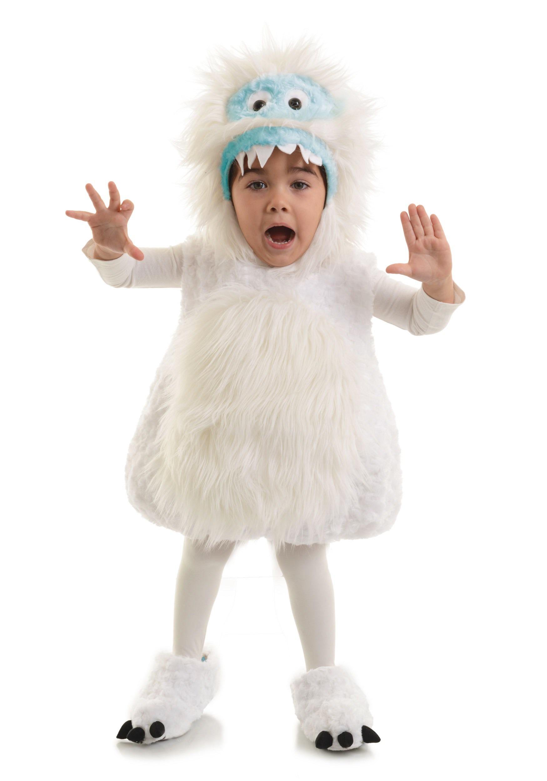 Child Snow Monster Costume UN26275
