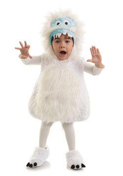 Child Snow Monster Costume