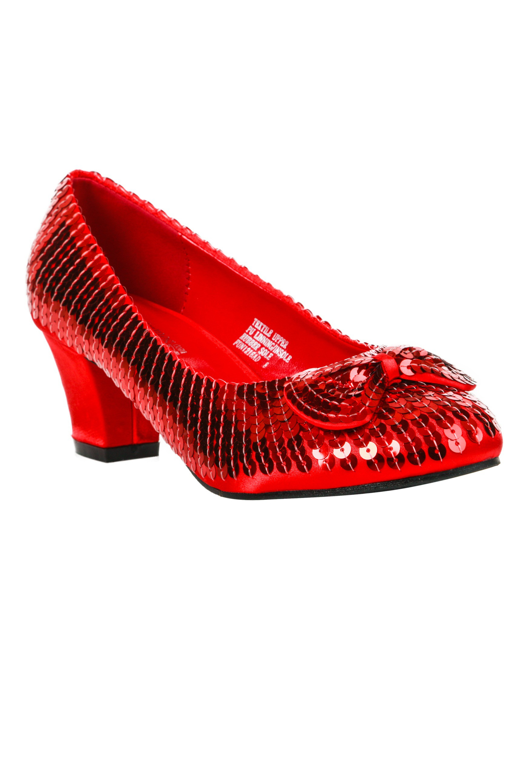 e071fce81a1e Adult Red Sequin Shoes