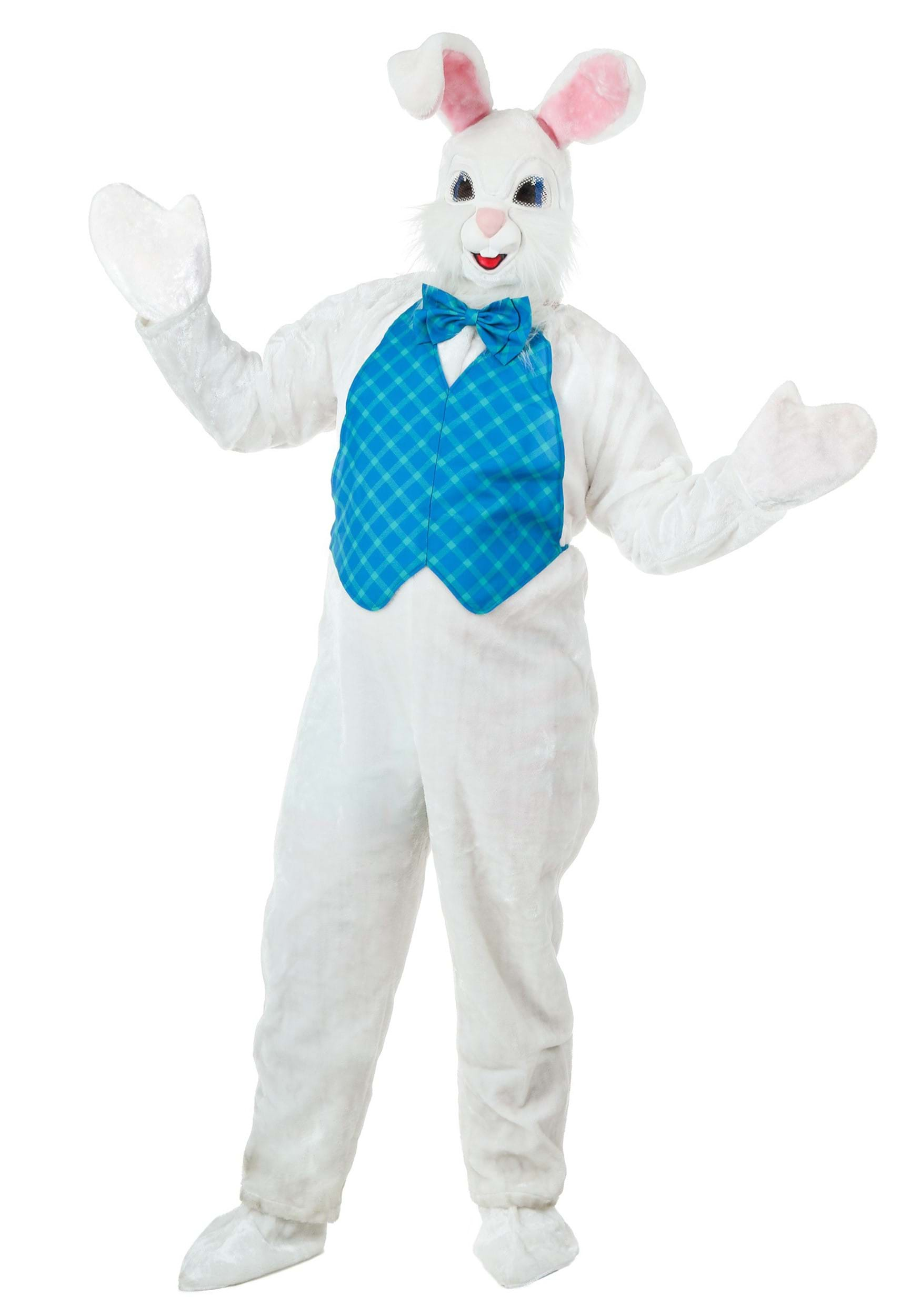 Mascot Happy Easter Bunny Costume
