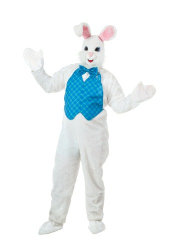 Click Here to buy Plus Size Mascot Easter Bunny Costume 2X 3X from HalloweenCostumes, CDN Funds