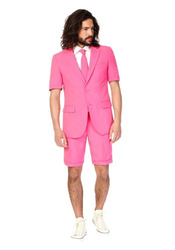 Mens OppoSuits Mr. Pink Summer Suit Costume