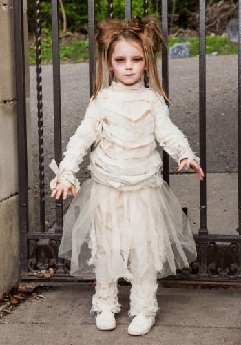 Girls Mummy Costume-8448