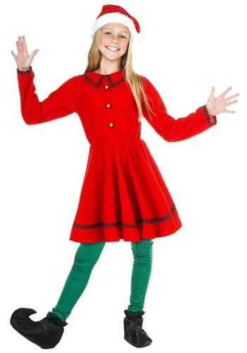 Click Here to buy Kids Polar Express Elf from HalloweenCostumes, USA Funds & Shipping