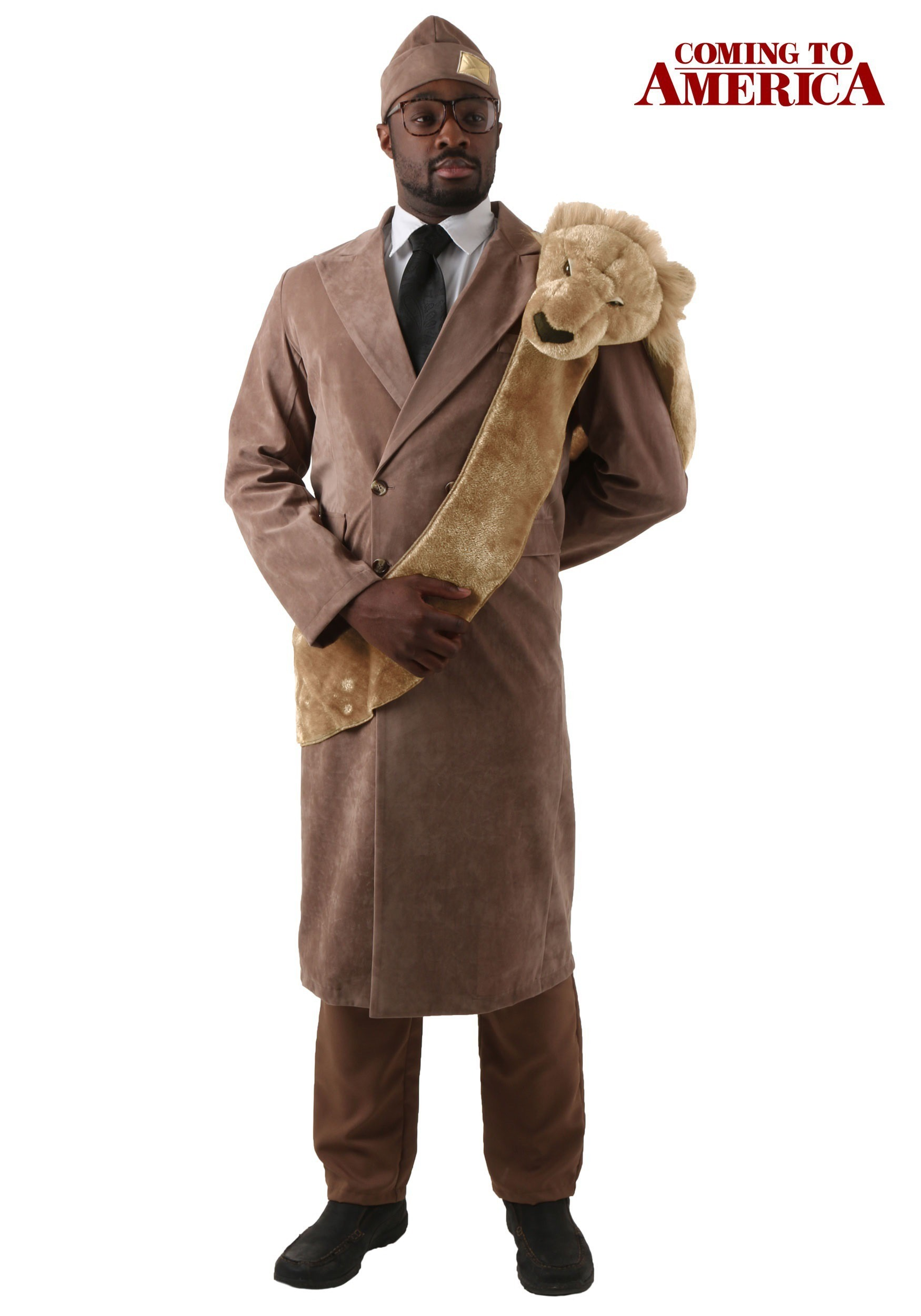 Plus Size Coming To America King Costume