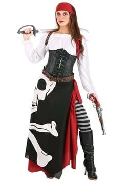 Women's Pirate Flag Gypsy Costume