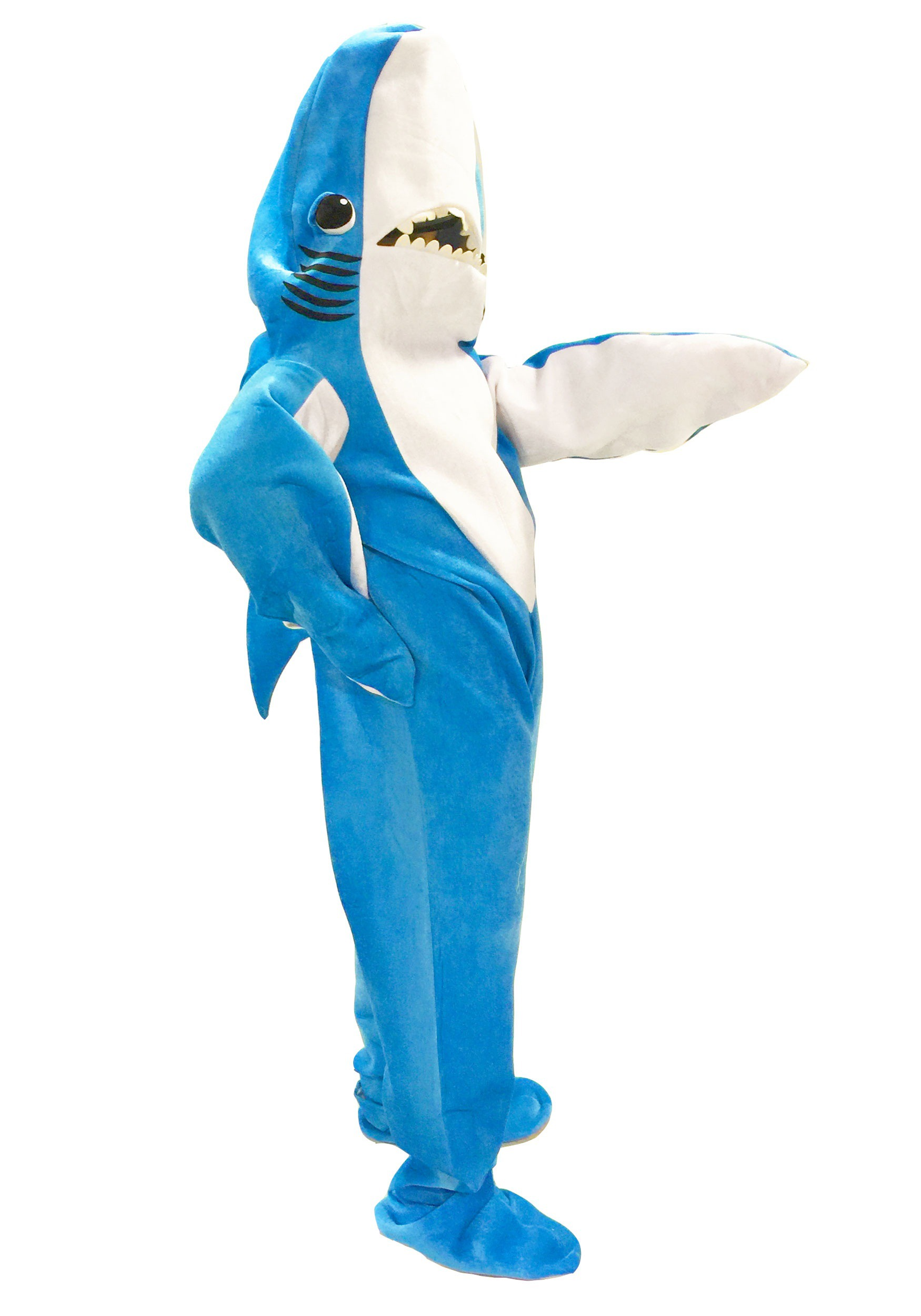 Halloween spider decorations - Adult Katy Perry Left Shark Costume