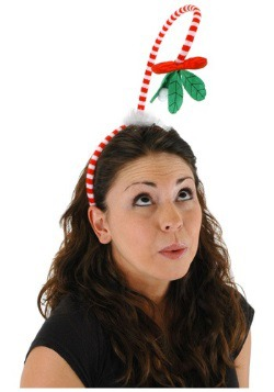 Springy Mistletoe Headband