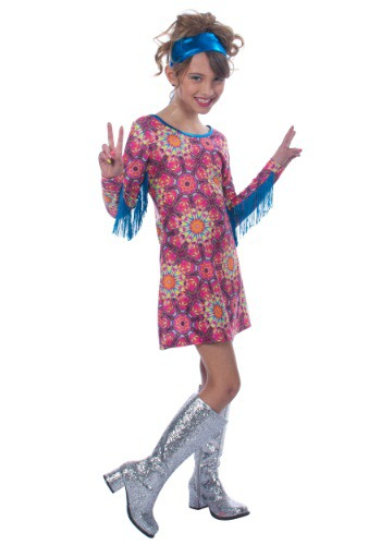 Click Here to buy Girls Day Dreaming Hippie Costume from HalloweenCostumes, CDN Funds