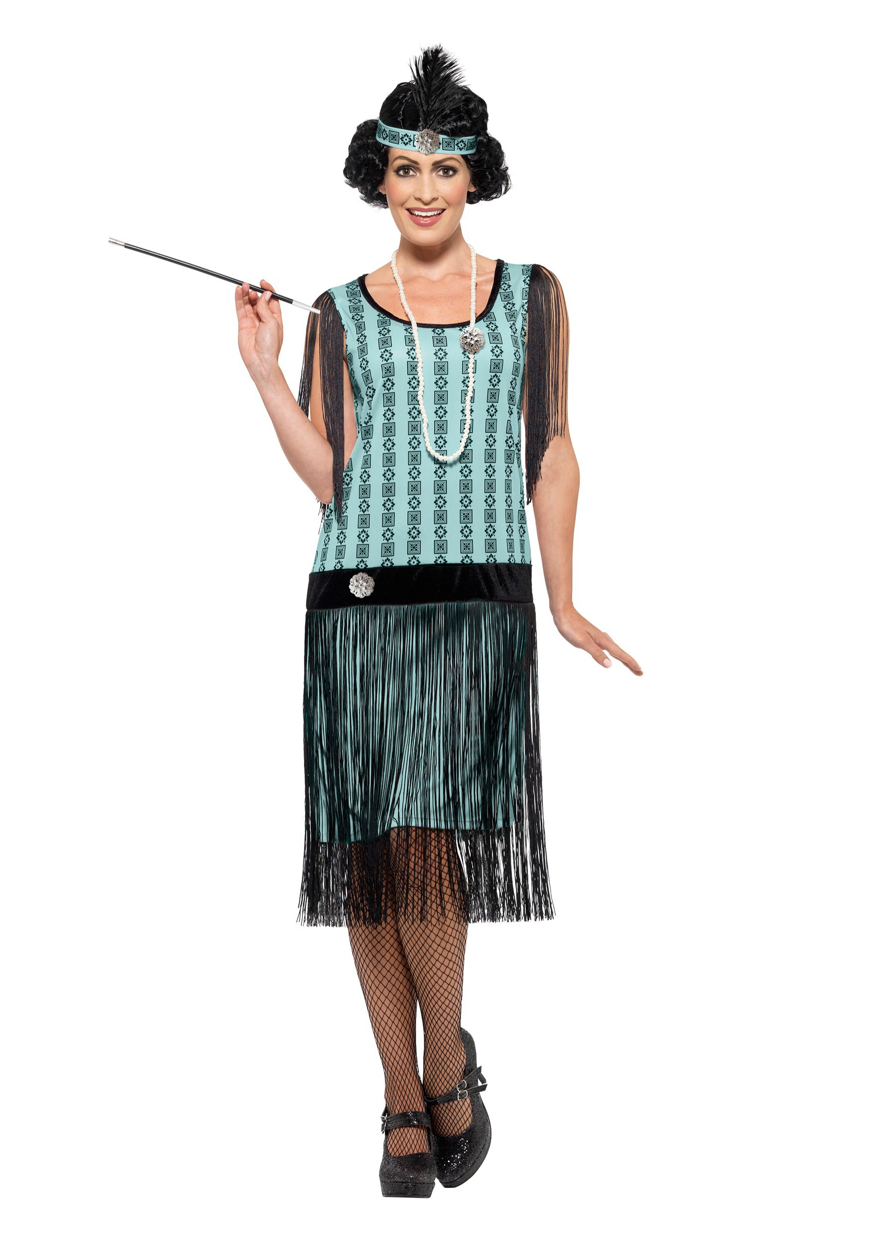 Women\'s 1920s Mint Coco Flapper Costume