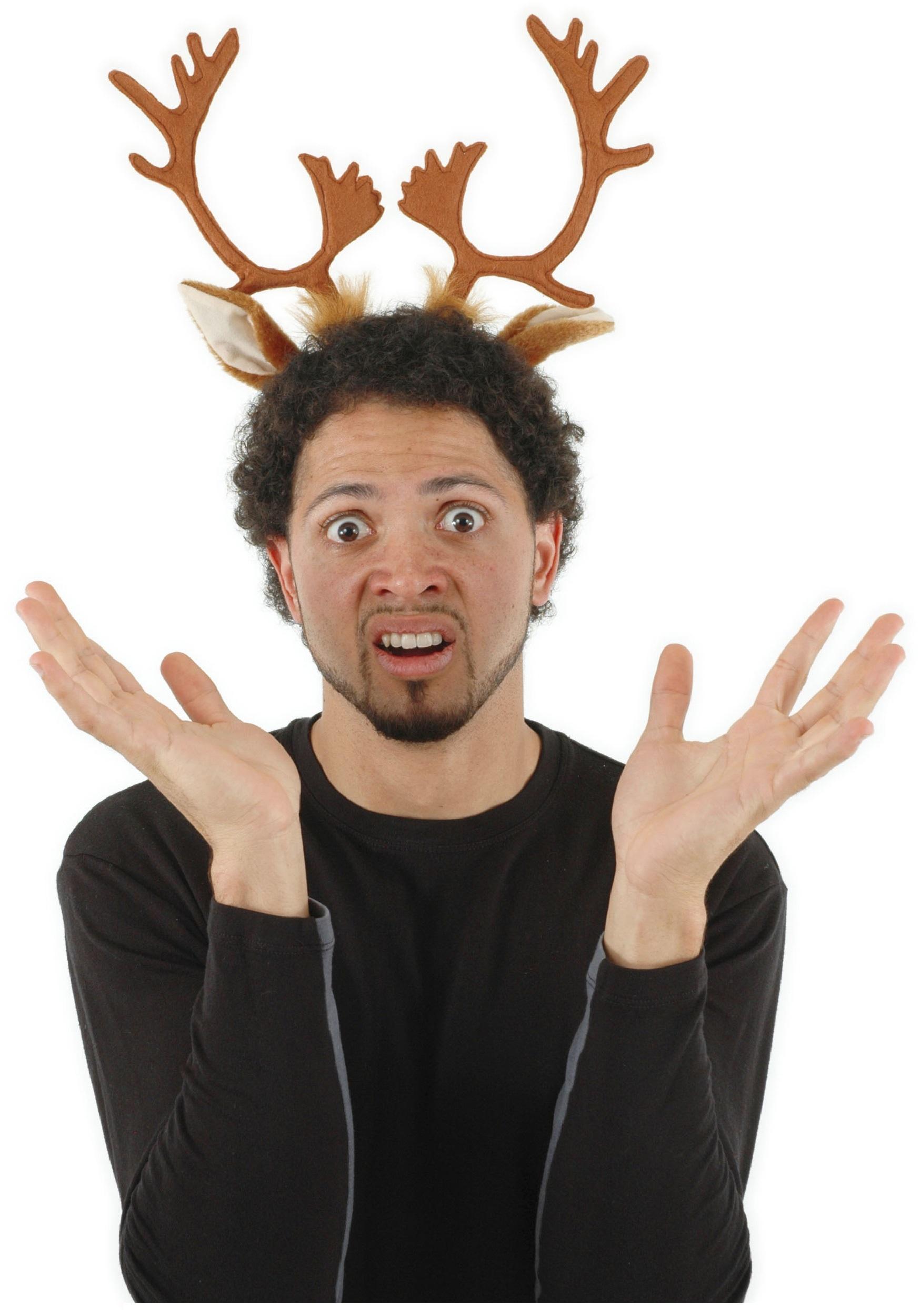 Reindeer Antler Hoodie Reindeer Antlers Headband