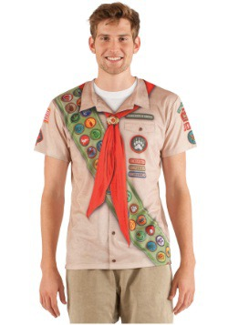 Men's Faux Real Cub Scout Shirt