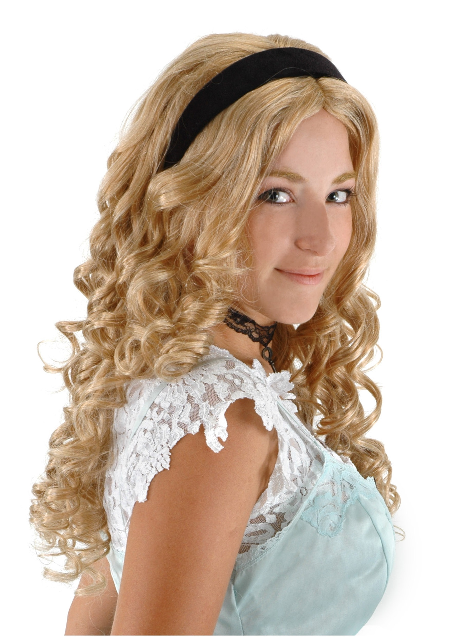 Alice In Wonderland Costume Wig 41