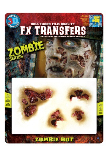 Cheapest Zombie Rot Temporary 3-D Tattoo Kit Online