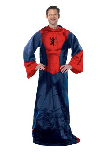 Spiderman Adult Comfy Throw By: Northwest Company for the 2015 Costume season.