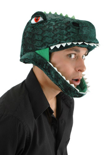 Click Here to buy Padded T-Rex Hat from HalloweenCostumes, USA Funds & Shipping