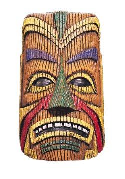 Adult Polynesian Overhead Latex Mask