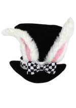 Child's White Rabbit Hat