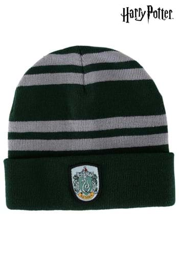 Магьосническа мода-Мадам Моклин Slytherin-knit-hat