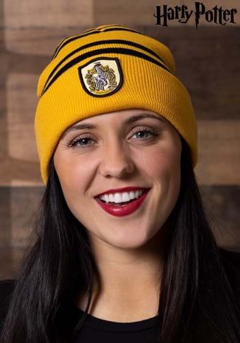 Магьосническа мода-Мадам Моклин Hufflepuff-knit-hat