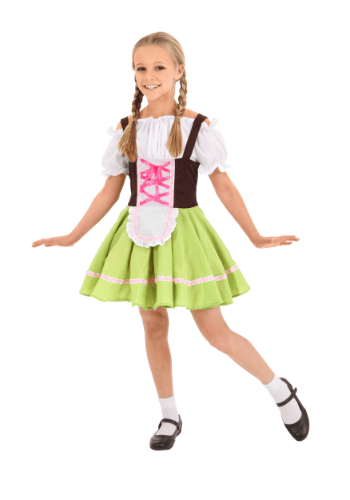 Child German Girl Costume