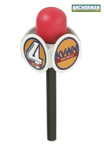 Anchorman Microphone Prop