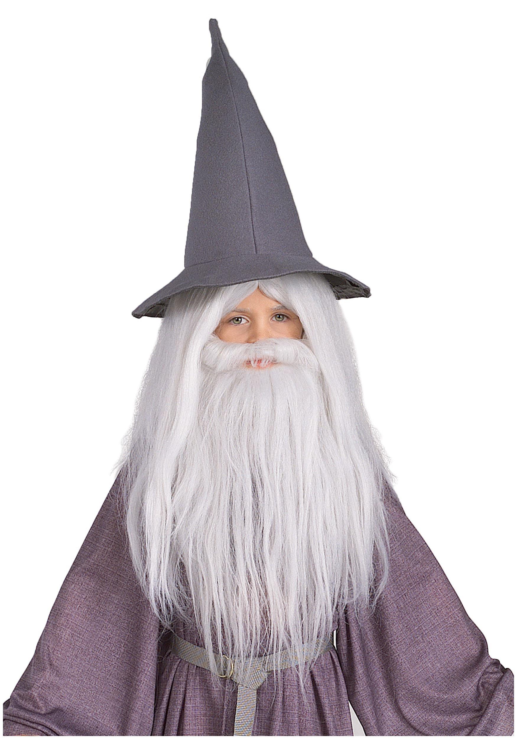 sc 1 st  Halloween Costumes & Kids Gandalf Beard and Wig Set
