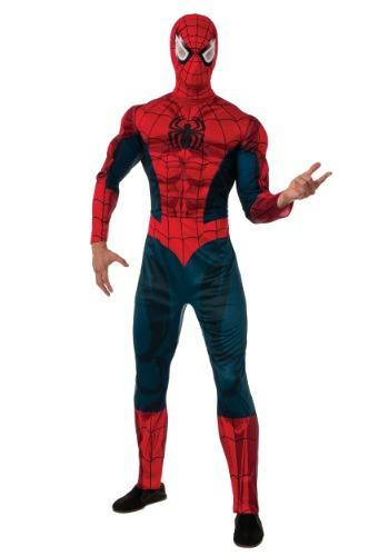 Click Here to buy Marvel Adult Spider-Man Costume from HalloweenCostumes, USA Funds & Shipping