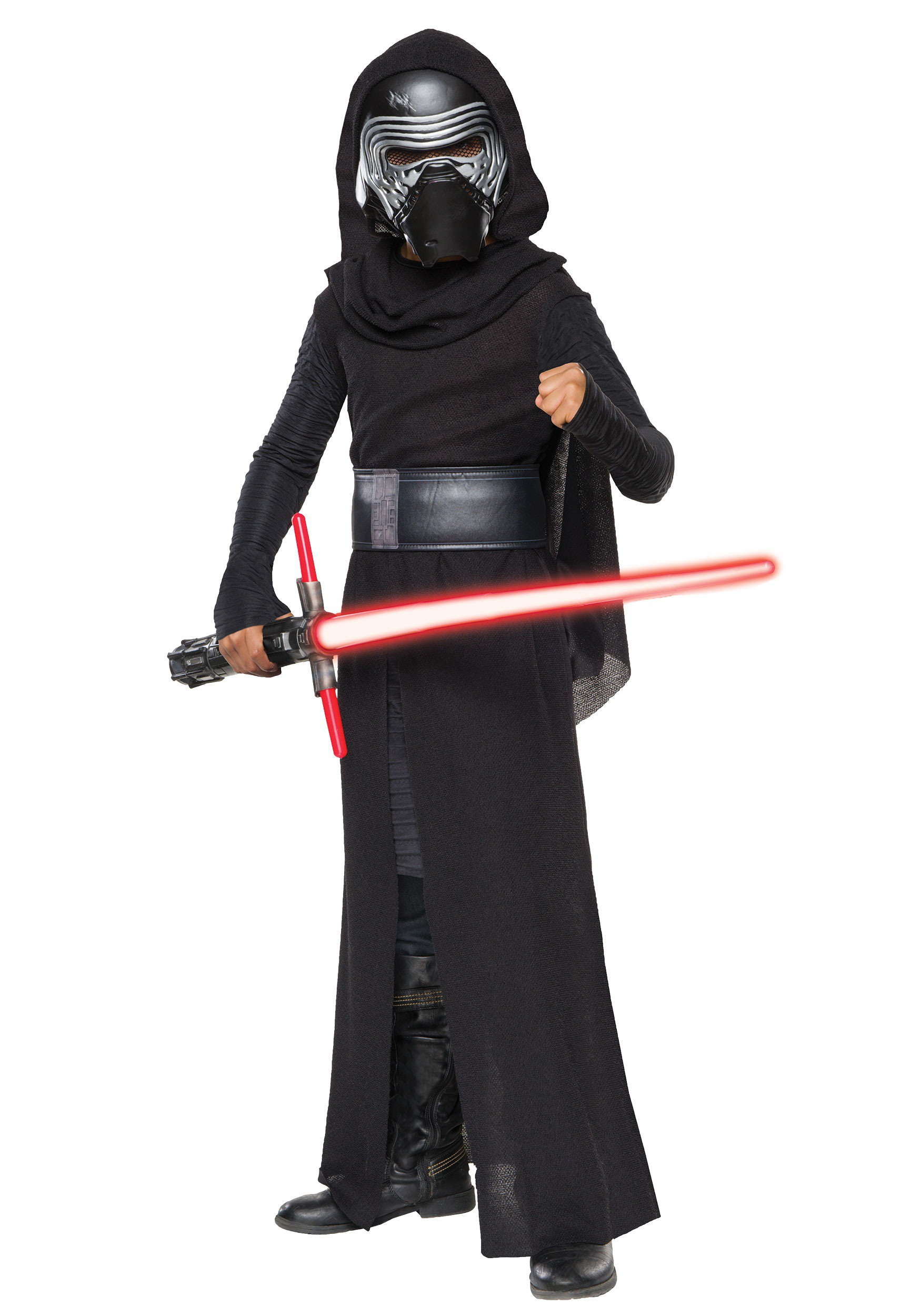 child deluxe star wars the force awakens kylo ren villain costume