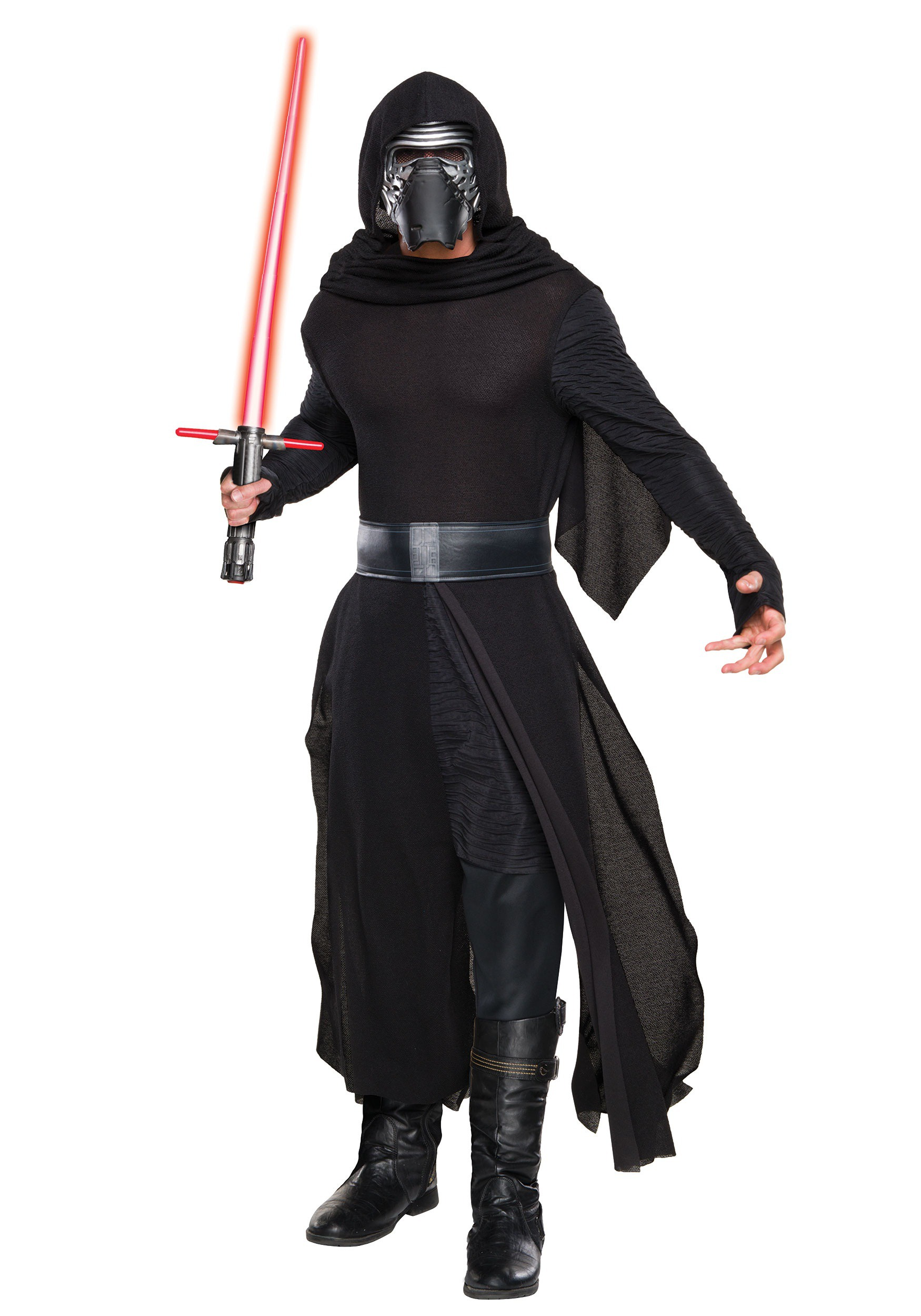 adult deluxe star wars the force awakens kylo ren villain costume. Black Bedroom Furniture Sets. Home Design Ideas