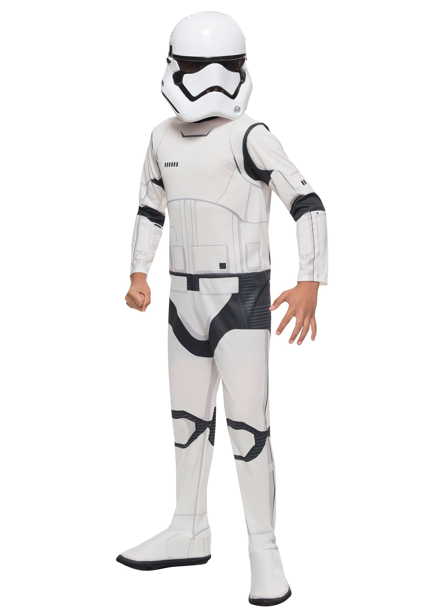 Boy's Villain Storm Trooper Costume RU620088