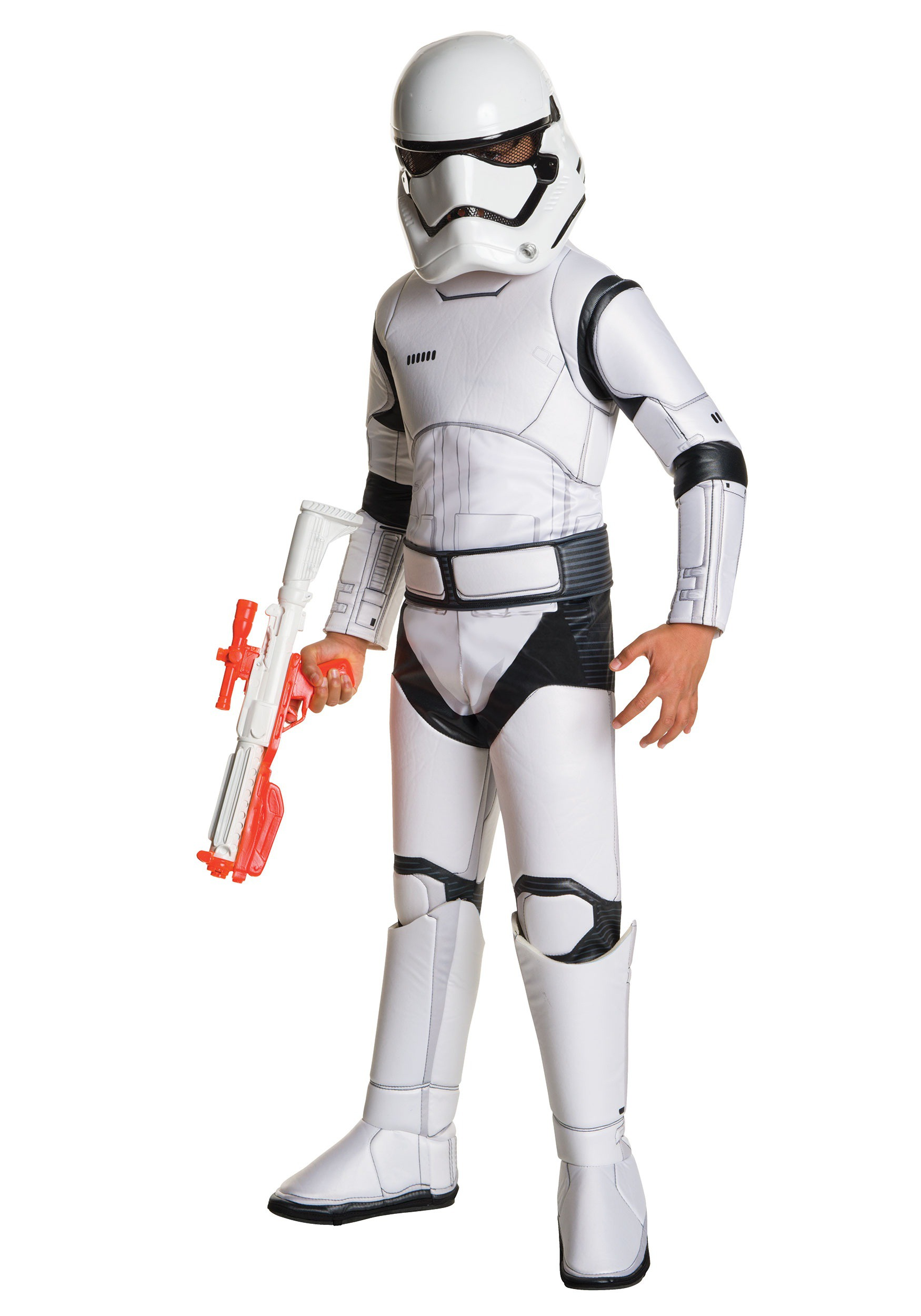 Child Deluxe Star Wars Ep. 7 Stormtrooper Costume  sc 1 st  Halloween Costumes & Child Super Deluxe Star Wars TFA Stormtrooper Costume