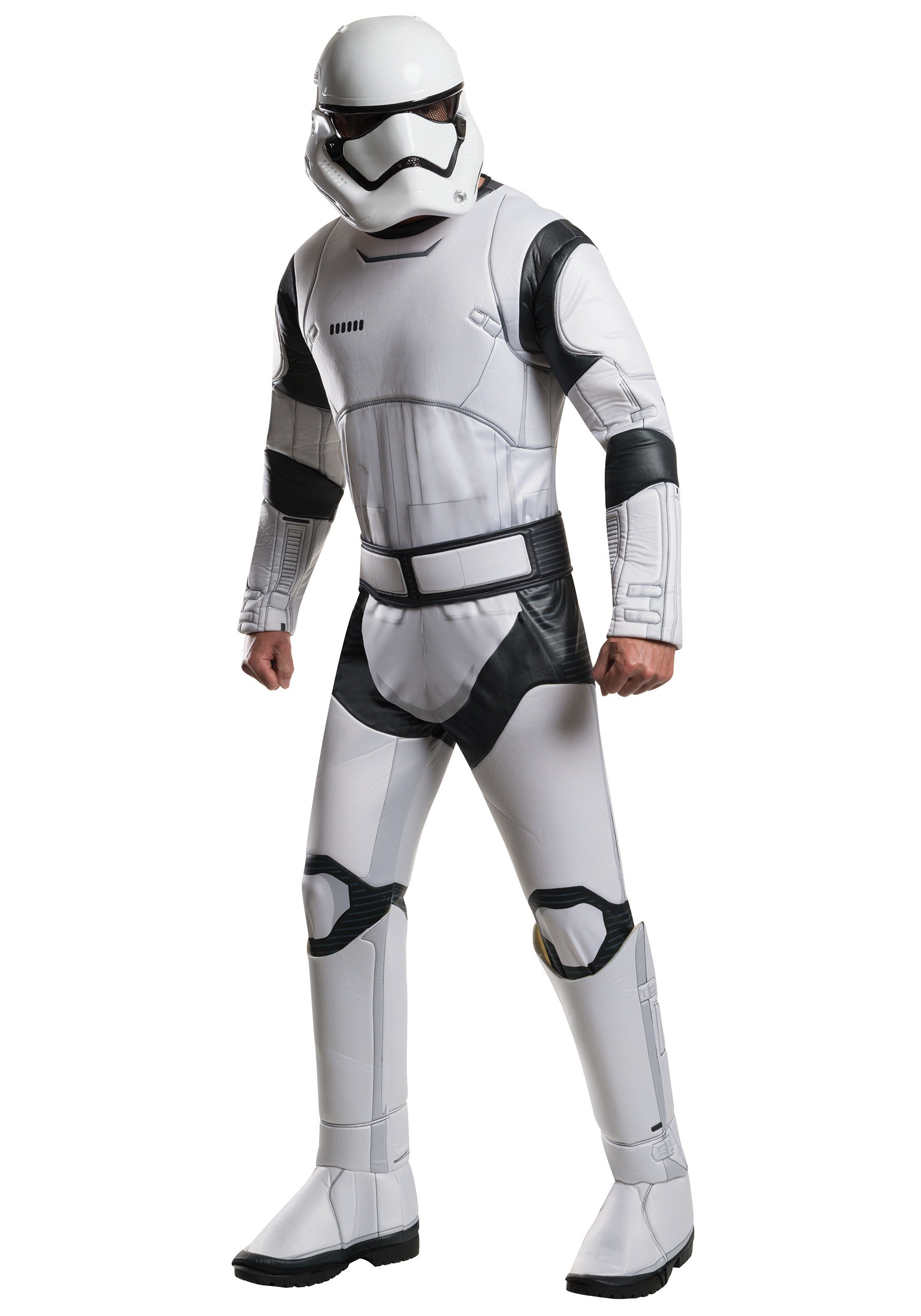 Adult Deluxe Star Wars Force Awakens Stormtrooper Costume RU810672