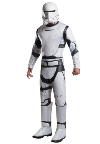 Adult Deluxe Star Wars The Force Awakens Flametrooper Costume
