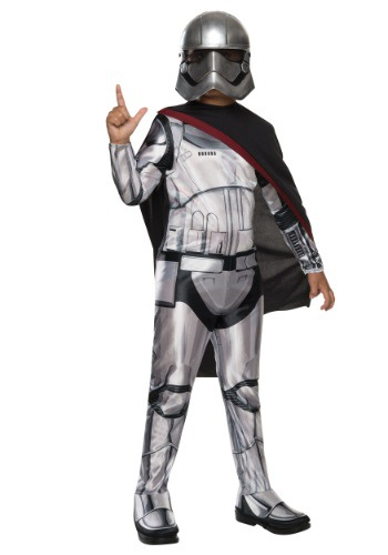 Child Classic Star Wars The Force Awakens Captain Phasma Costume