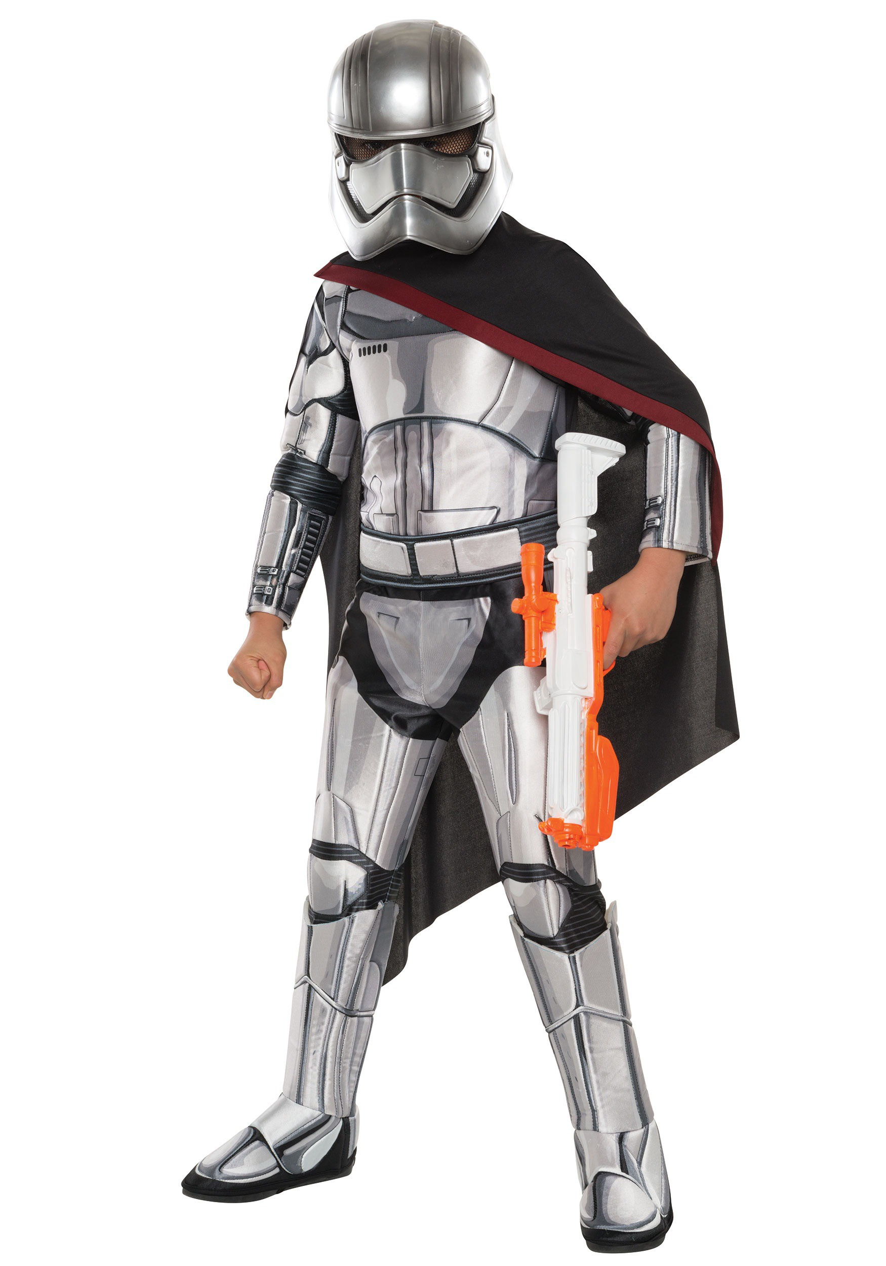 Child Deluxe Star Wars Force Awakens Captain Phasma Costume RU620092