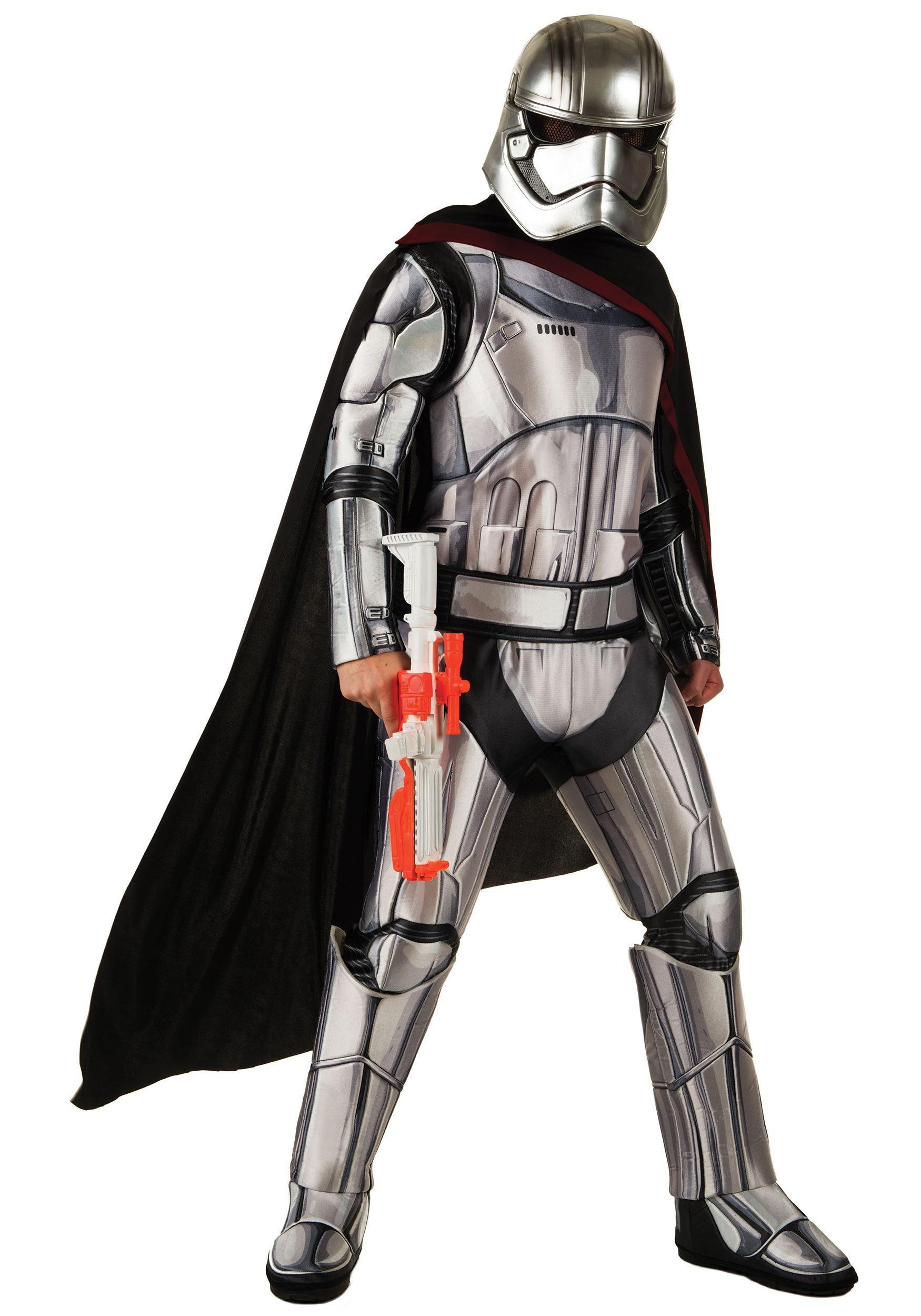 Deluxe Star Wars The Force Awakens Captain Phasma Costume RU810670